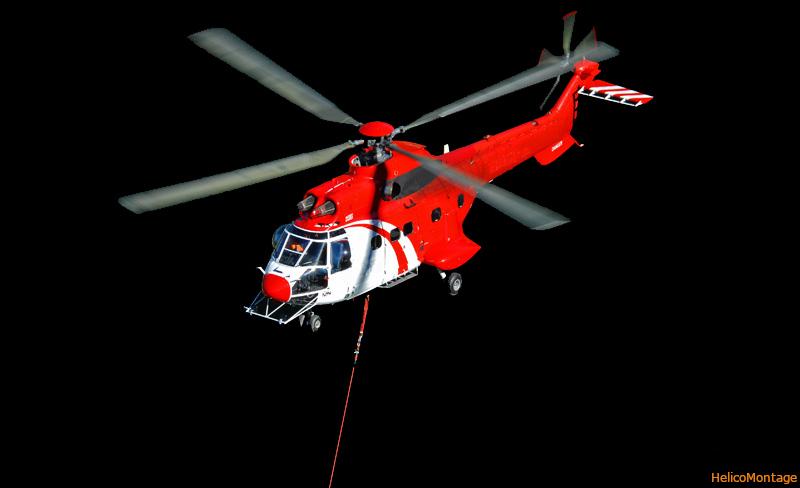 Héliportage de béton en montagne, levage par hélicoptère, hélitreuillage, montage rooftop, climatiseur, transformateur, logging, remontée mécanique, hélitreuillage de matériel