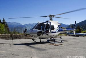 Héliportage avec hélicoptère Ecureuil AS 350 B3