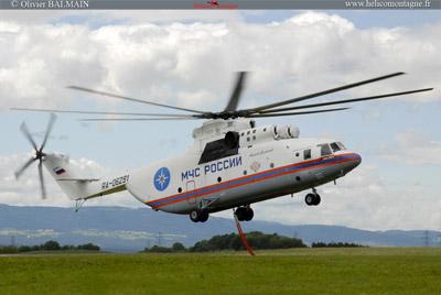 MIL MI 26 T au décollage