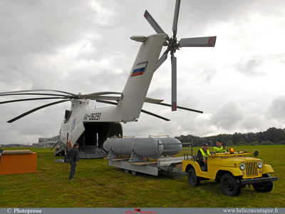 Additional tank Mil Mi 26 helicopter
