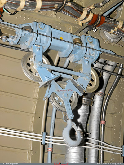 Système de levage pour la mise en place des réservoirs